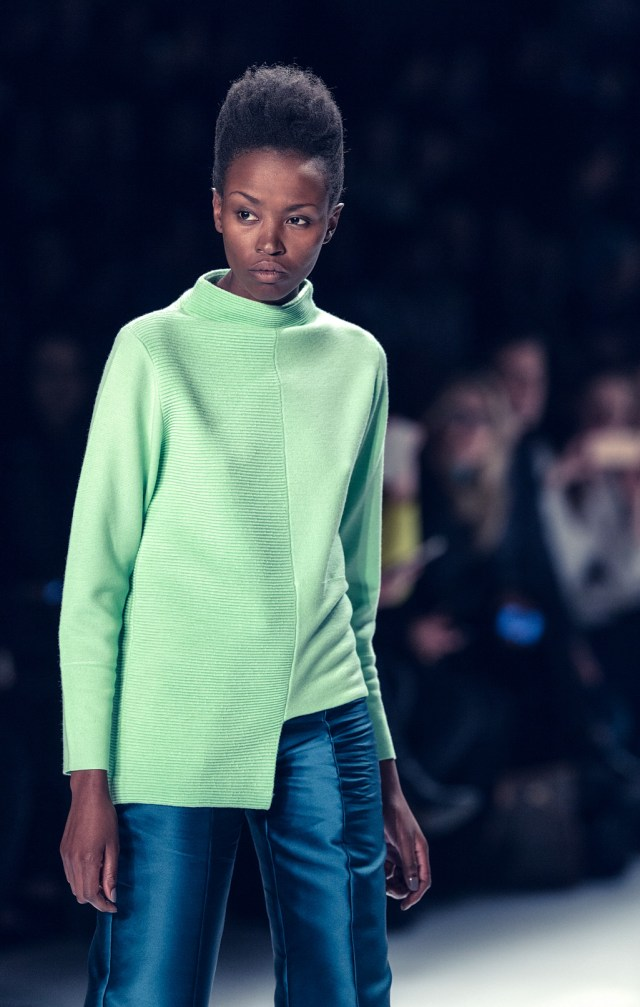 paper london fashion catwalk