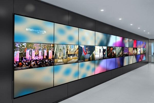 Media Walls Digital Signage Displays