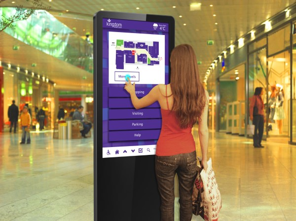 Infrared Freestanding Touch Screen