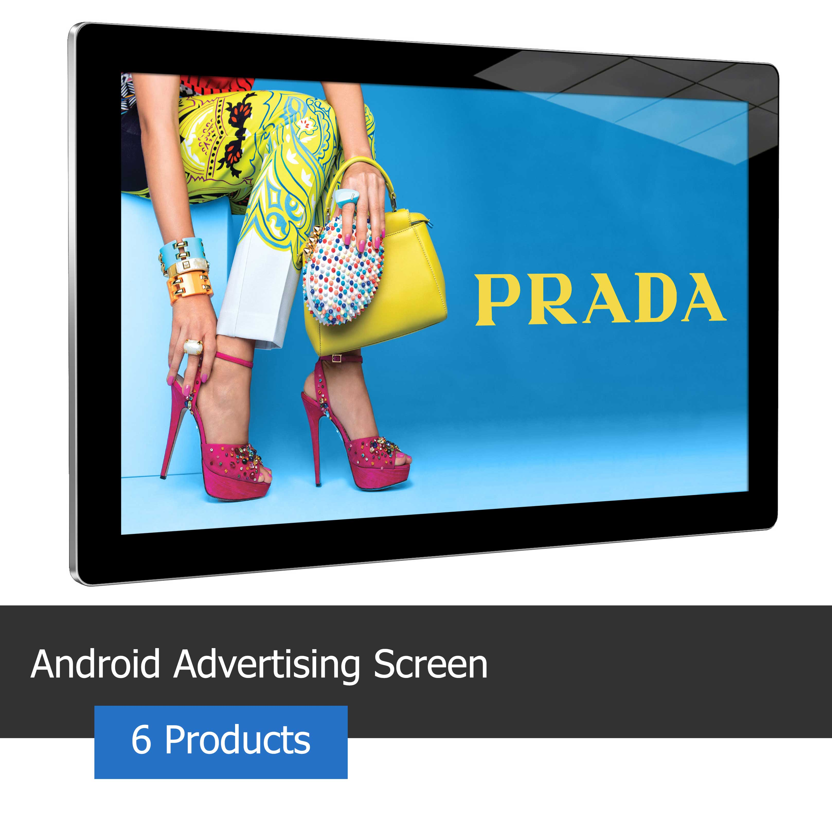 Android Advertising Screen