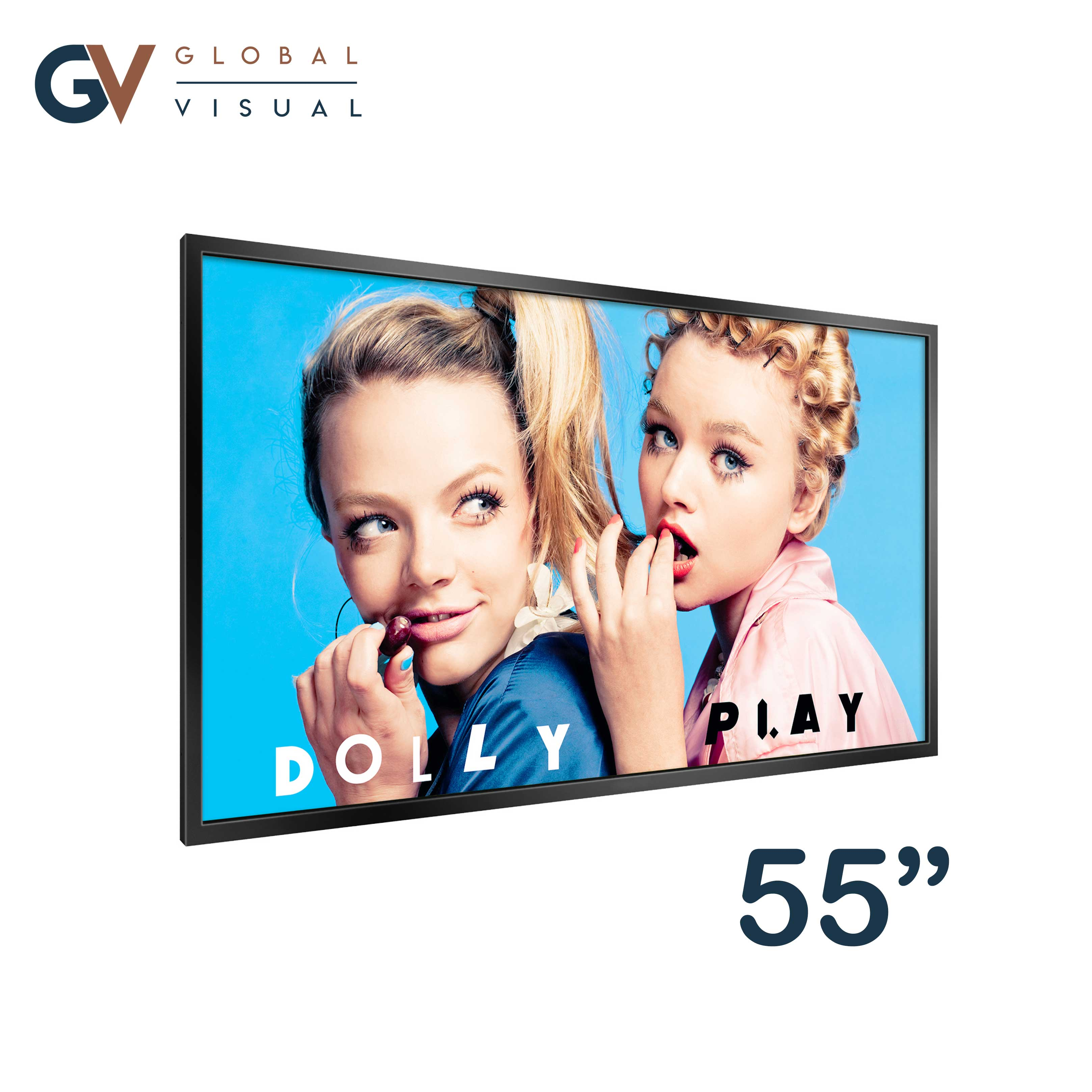 "Image of a 55"" ultra high brightness monitor"