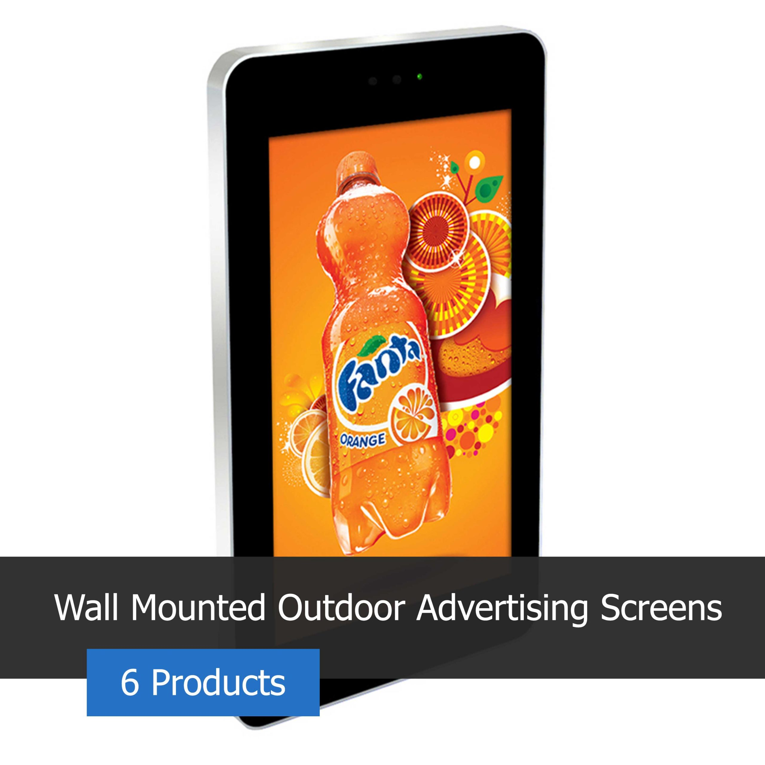 Wall Mounted Outdoor Displays