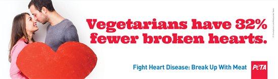 Vegetarian Valentine's Day PETA