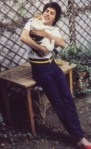 freddie mercury from queen with cat