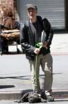 Jon Stewart walks dog champ