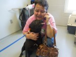 baby dog reunited with owner central oklahoma humane society
