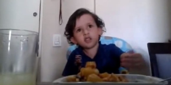Luiz Antonio questions why anyone would ever want to eat an animal. Photo Credit: YouTube