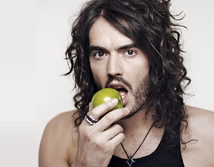 Russell Brand was PETA's choice for sexiest vegetarian celebrity in 2011. Photo Credit: Jenkins, Getty Images