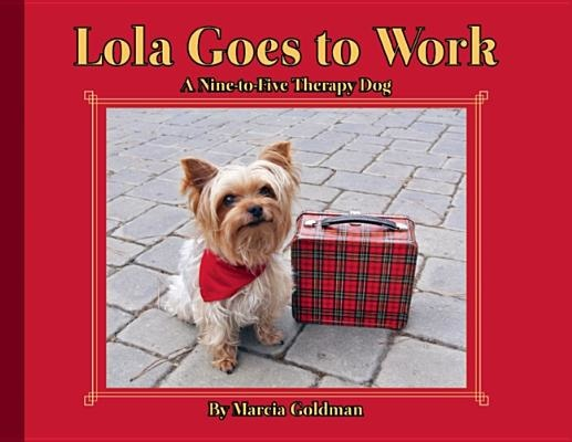 Lola goes to work book cover
