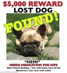 Hemi Lost n' Found Poster