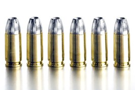 Lead products are highly poisonous if consumed, and lead bullets are creating a problem for the enviornment. Photo Credit: Nuclead Inc