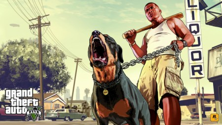 "GTA V was attacked by animal rights group ""In Defense of Animals"" who claim the game supports violent treatment of animals. Photo Credit: kotaku.com.au"