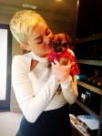 Miley Cyrus, Pets, Dogs, Puppies, Celebrity Pets