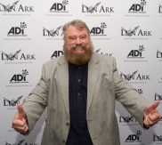 Brian Blessed roars his approval for ADI Films' action-documentary Lion Ark at its world premiere at the Raindance Film Festival. Photo credit: Animal Defenders International (ADI)