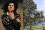 T-rex bolan and a tyrannosaurus rex