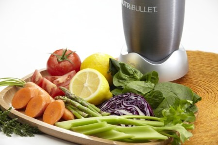 The NutriBullet is a portable, high speed blender/mixer system that pulverizes your fruits, vegetables, nuts and seeds into nutritious shakes, soups and dips. Photo credit: NutriBulletblog.com
