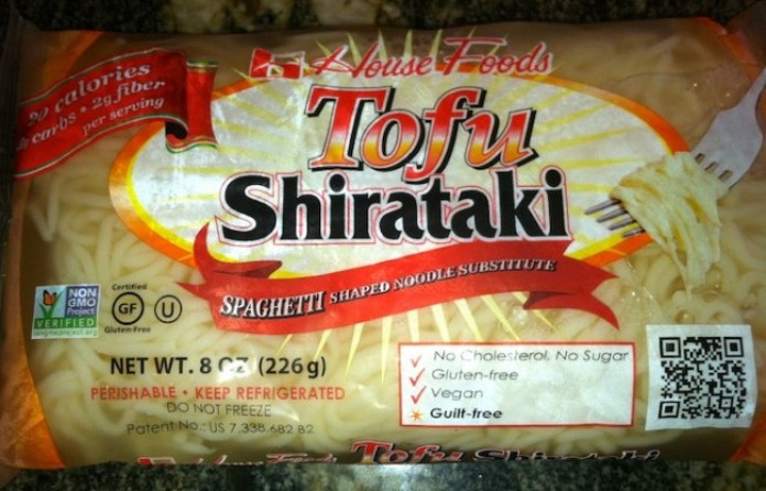 Tofu Shirataki Noodles are a low calorie, low carb alternative to enjoy your delicious pasta dishes. The low fat, high fiber food not only helps dieters curb their hunger pangs, but studies show they also help to lower cholesterol and control diabetes./Photo credit: Lisa Singer