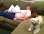Brett Sleeping