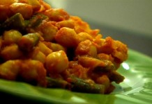 Serve this delicious chickpea curry with basmati rice. (VEGAN/VEGETARIAN)