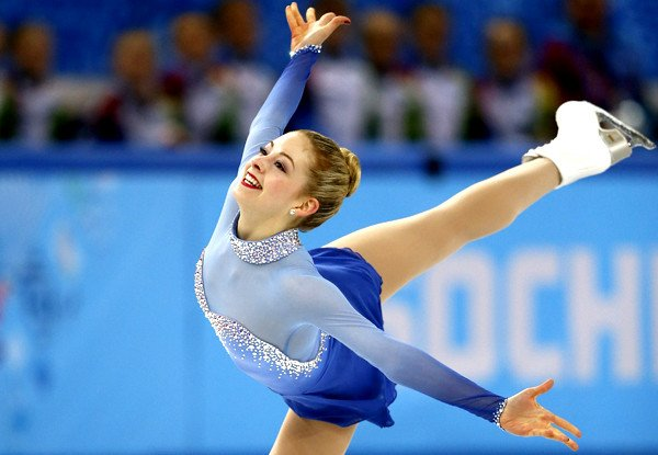 Gracie Gold scored big in her first Olympic performance at the Sochi Winter Games. The 18 year old's virtually flawless free-skate helped Team USA win the bronze medal./Photo credit: latimes.com