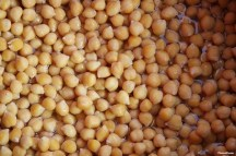 Chickpeas, also called garbanzo beans, are the perfect vegetarian-friendly source of protein, containing 15g per cup. Also low in fat, high in fiber and rich in vitamins and minerals, they're a perfect staple for any diet./Photo credit: Lisa Singer