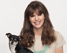 """Victoria Stilwell of the tv show """"It's Me Or The Dog"""" joined a campaign to save animals. (CATS AND DOGS/ANIMAL TESTING)"""