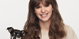 "Victoria Stilwell of the tv show ""It's Me Or The Dog"" joined a campaign to save animals. (CATS AND DOGS/ANIMAL TESTING)"