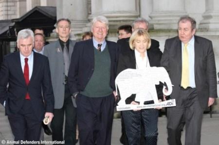 igers, Elephants, Circus, Animal Defenders International, Prime Minister, UK