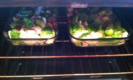 Oven roasting is a healthy, no fuss and flavorful way to prepare your vegetables./Photo credit: Lisa Singer