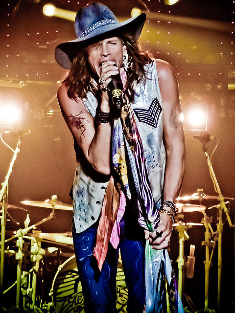 Massachusetts is the birthplace of Tyler's band, Aerosmith. Photo credit: Veggie Fans