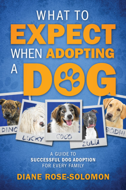 """""""What To Expect When Adopting a Dog"""" by Diane Rose-Solomon"""