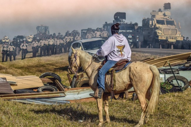 Photo Credit: Facebook/Standing Rock Rising