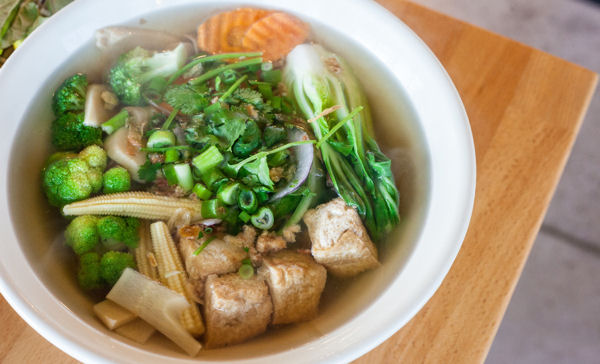 Vegan pho. Photo Credit: Vegan Magazine