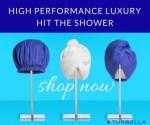 best shower cap and hair towel turban twist by Turbella