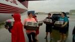 Wings of Rescue volunteers transport animals to safety amid Hurricane Harvey