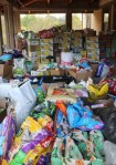 donations supplies donated to Humane Society of Ventura County during Thomas fire relief
