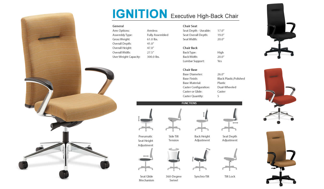 allsteel access chair instructions revolving parts names global art executive chairs