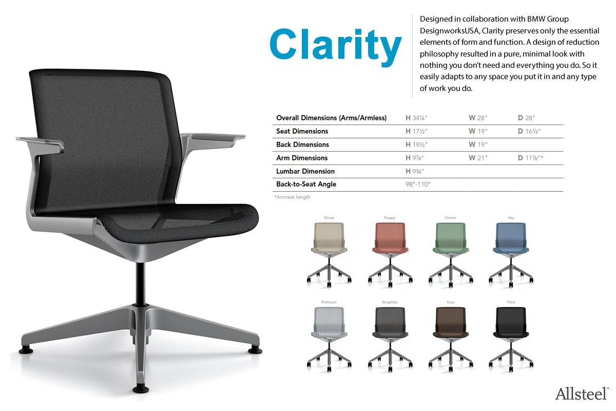 allsteel access chair instructions flip out global art task