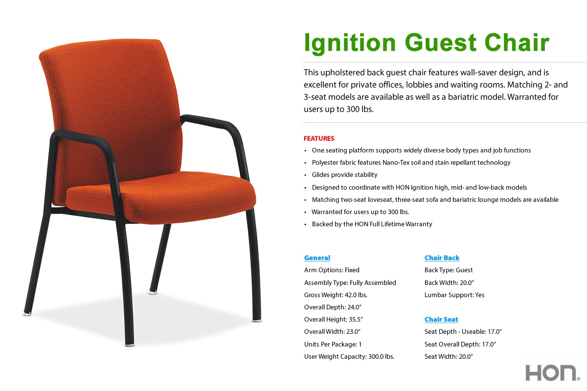 hon invitation guest chair stool difference