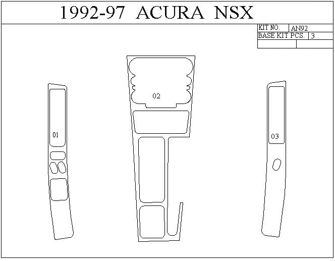 Acura Chrome Grill, Trim Accessories, Performance Chip