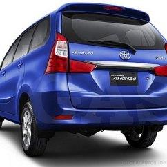 Trunk Lid Grand New Avanza Interior Agya Trd 2017 Toyota Rear Chrome Trim Before