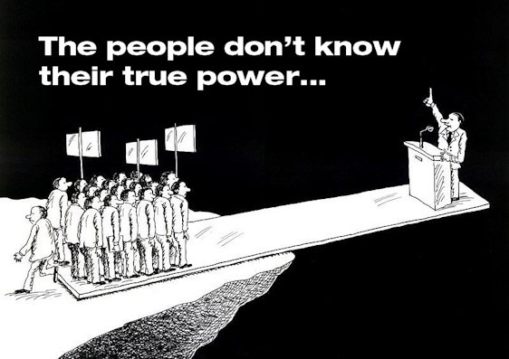 The people don't know their true power...