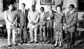 thatcher and african leaders