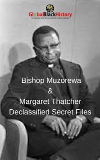 Bishop Muzorewa & Margaret ThatcherDeclassified Secret Files