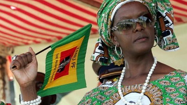 Image result for grace mugabe