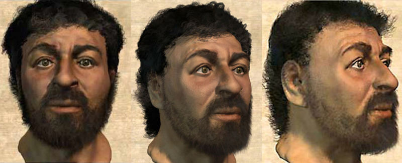 Composite of how Jesus might have looked based on how an average Jewish man looked in the first century