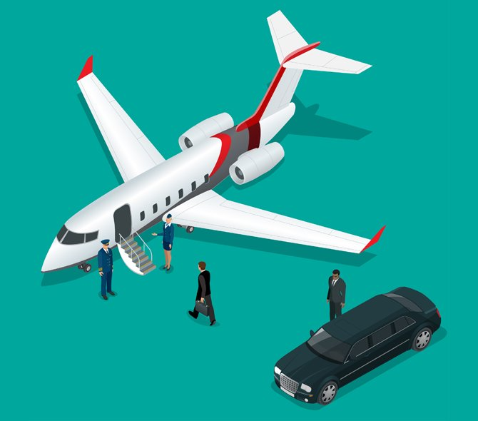 Adopt On Demand Private Jets and Transform Ride Experiences for Executives Revolutionarily