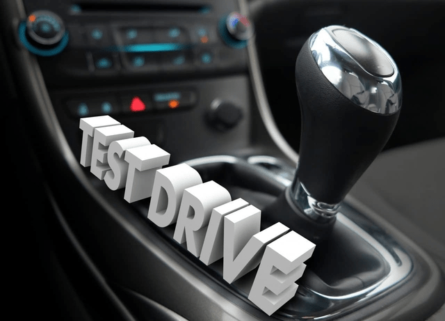 How to make the most of your test drive