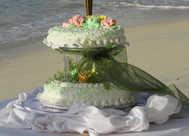 Cakes Perfectly Match To The Theme Of A Beach Wedding?