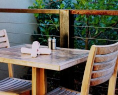 upholstery of patio furniture
